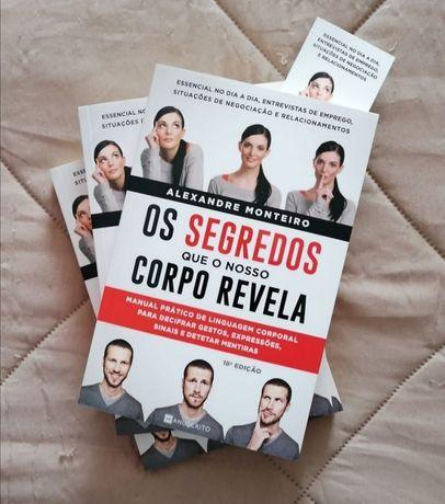 Os segredos que o corpo revela - Alexandre Monteiro - Novos a estrear