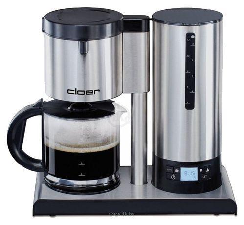 Немецкая капельная кофеварка-капуччинатор Cloer 5609