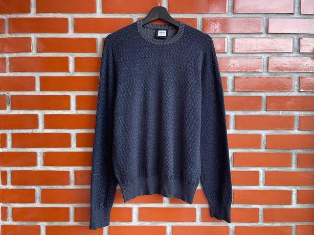 Armani Colezioni оригинал мужской свитер джемпер размер XL армани Б У
