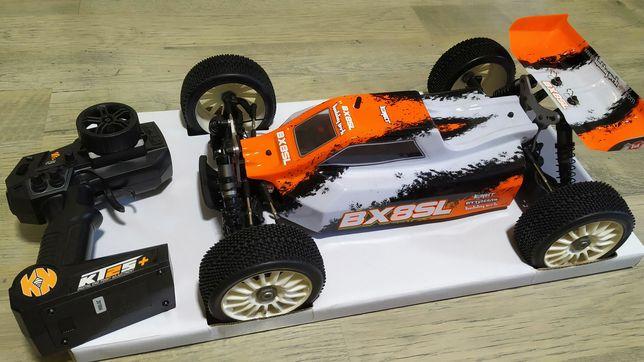 Buggy 1/8 HobbyTech bx8sl + akumulator + ładowarka model rc samochód