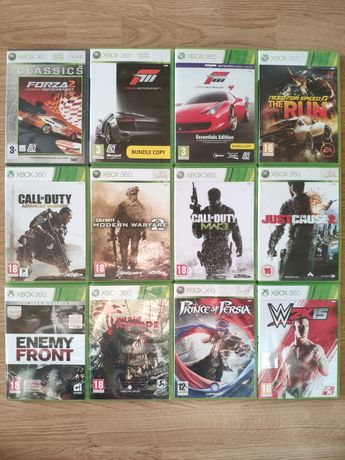 Gry xbox 360 Forza motorsport Call of duty