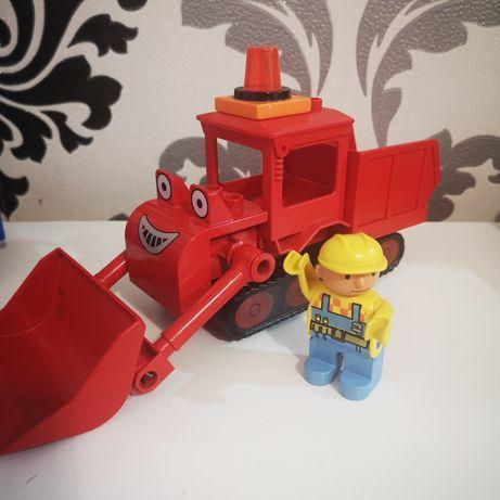 Spychacz Bob Budowniczy, Lego Duplo.