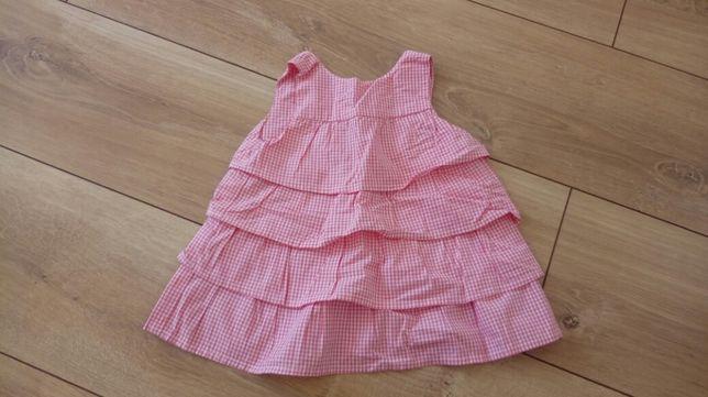 Sukieneczka dla małej księżniczki - rozm.68cm - stan IDEALNY