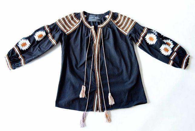 Bluzka Louisa Ferrera roz S/M haft