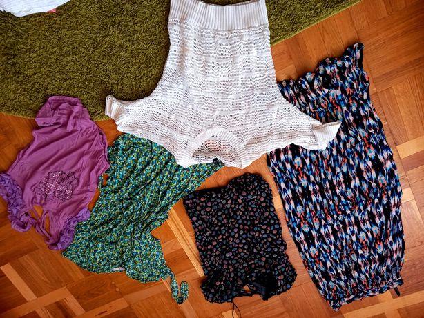 Женские вещи размер с-м футболки юбка туника