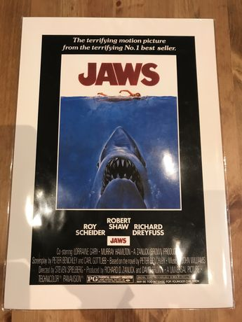 Poster filme Jaws A3