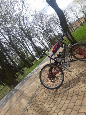 Rower spalinowy Montaż silników spalinowych do rowerów