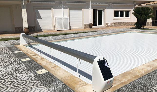 Cobertura lâminas estores piscinas lisboa cascais piscinas e spas 3x8