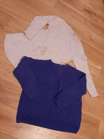 ZARA 3pak sweterek, tunika i spódniczka rozm. 104