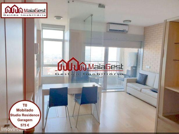 T0 | Mobilado | Studio Residence | Garagem | MaiaGest
