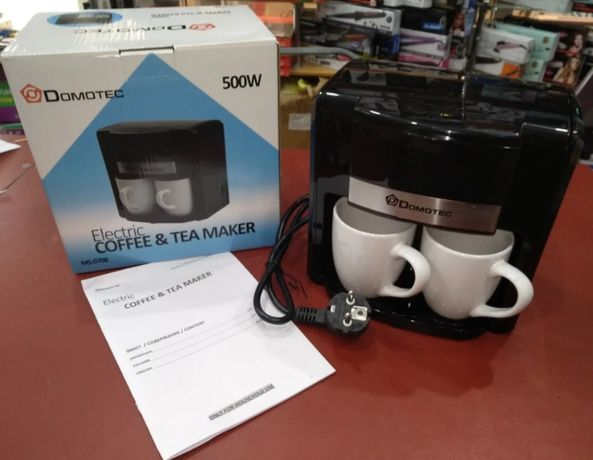 кофеварка Domotec MS-0708 (500W)