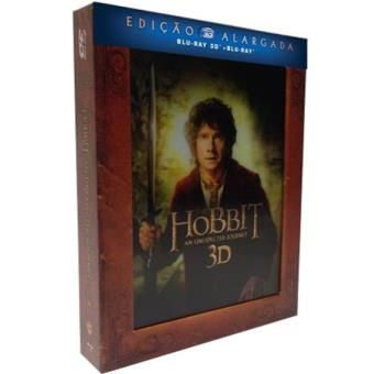 The Hobbit: An Unexpected Journey-Edição Luxo Alargada (Blu-Ray 3D+2D)