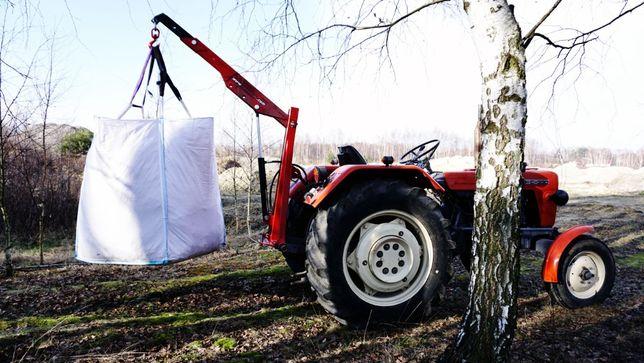ŁADOWACZ podnośnik BIG-BAG do lasu drewna podnośnik żuraw C330 C360