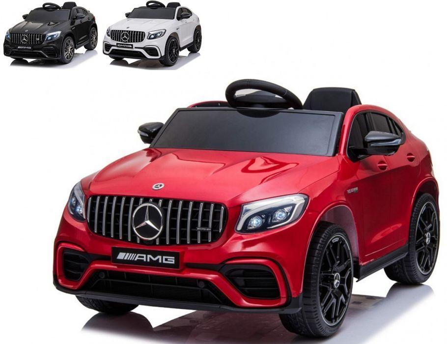 AUTO NA AKUMULATOR Mercedes GLC63S 4x4 Miękkie koła Ekoskóra 3-6 LAT