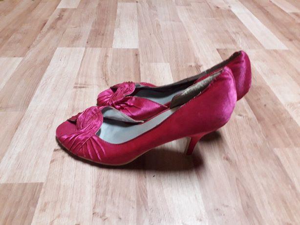 buty szpilki różowe eleganckie rozmiar 39