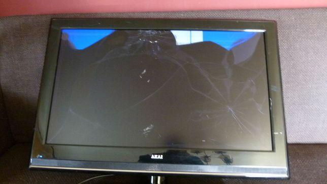 Telewizor AKAI FL3210H działa -zbita matryca