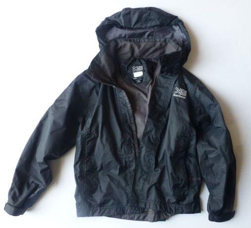 Czarna kurtka KARRIMOR przeciwdeszczowa wiatrówka w góry 122 128