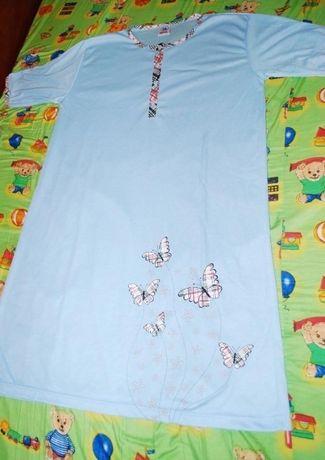 Koszula nocna bawełna L ciążowa