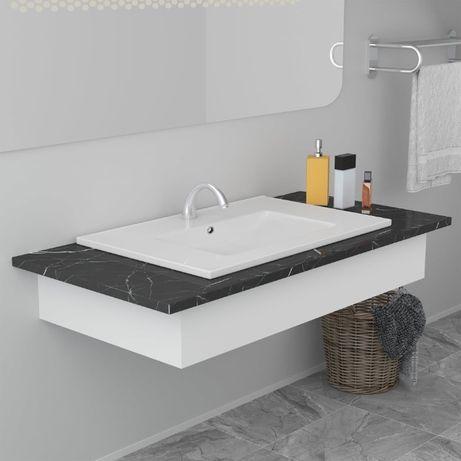 Umywalka prostokątna ceramiczna 61,5x46,5x11,5cm