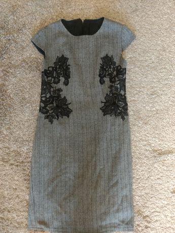 Платье 100% шерсть