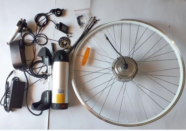 Электронабор для велосипеда 350/500 Вт,Электровелосипед.