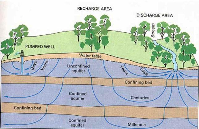 Żyły wodne, szukanie wody, pole elektromagnetyczne