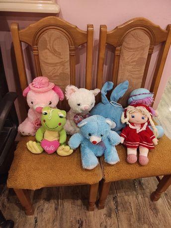 Крошик,котик,ведмеженок,жабка,кукла плюшевая