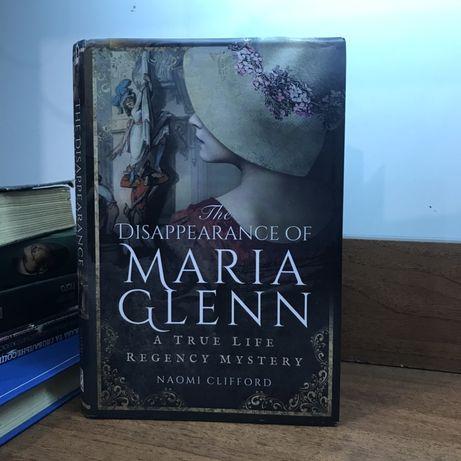 "Книга на английском ""the disappearance of Maria Glenn"""