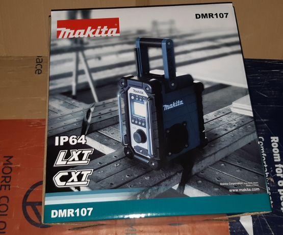 MAKITA radio budowlane DMR 107