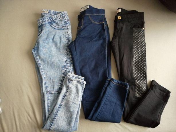 Spodnie rozmiar xs stan bdb