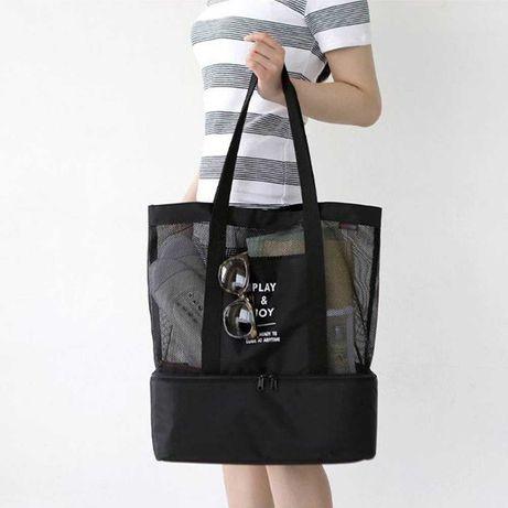 Оригінал жіноча сумка 2в1 PLAY & JOY відомий бренд сумка-холодильник