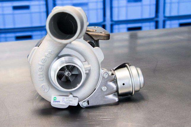 Turbina Ford Focus C-Max 1.6 Tdci 109 110km 753420 Turbosprężarka