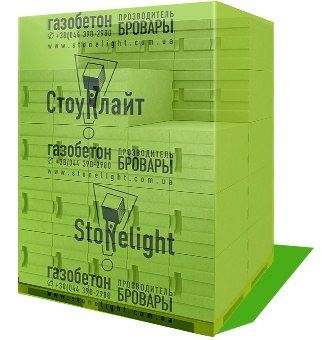 Газоблок Газобетон Стоунлайт Бровары в Одессе от производителя