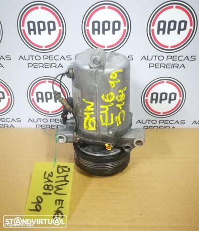 Compressor AC BMW E46 318 I de 1999, ref 9811144378.