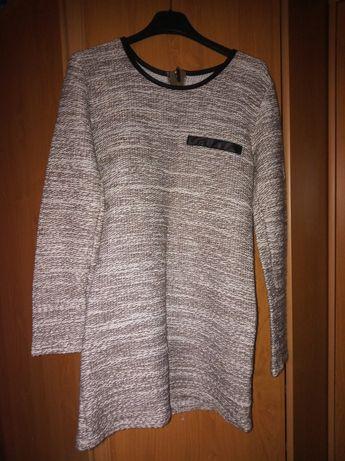Długi sweter tunika
