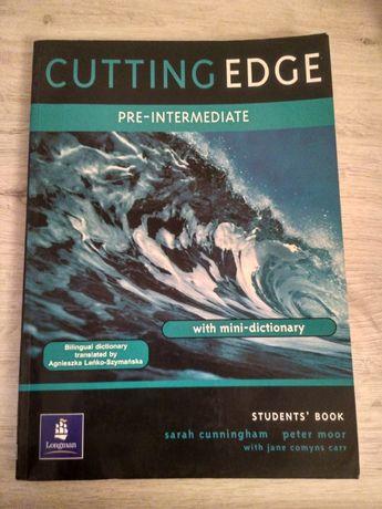 Cutting Edge Pre- Intermediate - książka językowa ze słownikiem
