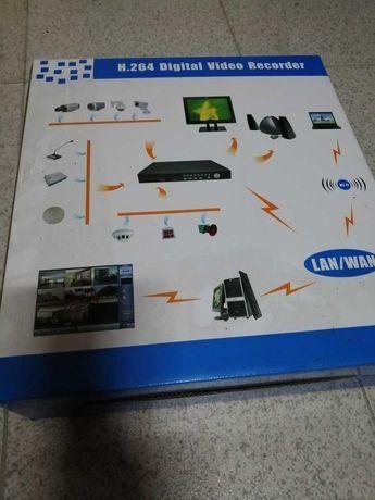 Gravador de imagens 4 C H.264 Network DVR