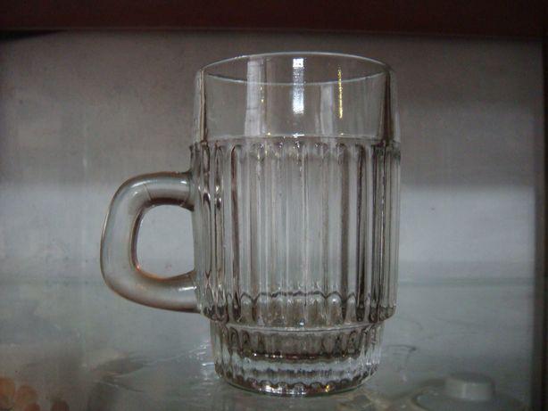 Kufel szklany do piwa 0,25 L z czasów PRL