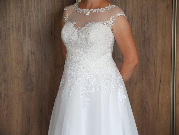 Suknia ślubna biała, model Agnes