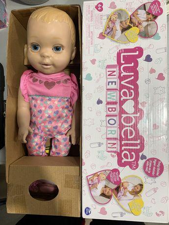 Інтерактивна лялька Luvabella Newborn / Интерактивная кукла Лувабелла