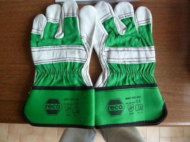 Rękawice robocze markowe RECA