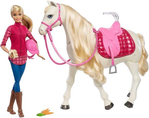 Барби - наездница и интерактивная танцующая лошадь FRV36 Barbie Dream