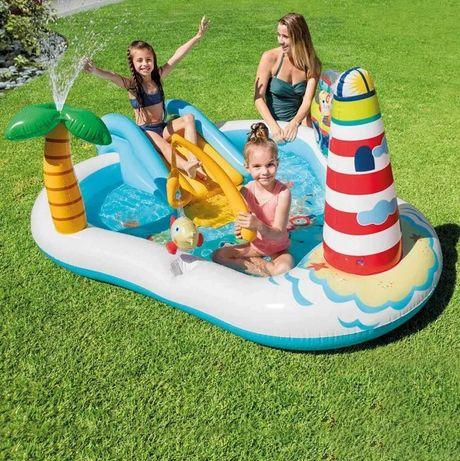 Детский бассейн Дитячий басейн, Надувной игровой центр для детей INTEX