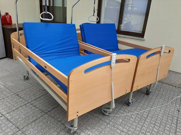 Camas articuladas elétricas e hospitalar