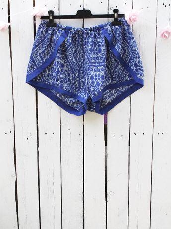 Bik Bok niebieskie szorty wzory