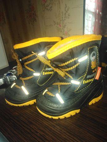 Детские ботинки (осень - зима)