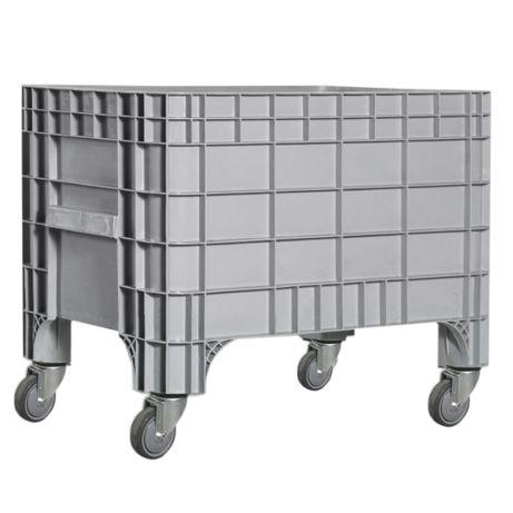 Контейнер с колесами, для перевозки, серый KAYALARPLASTIK K 7000 270 л