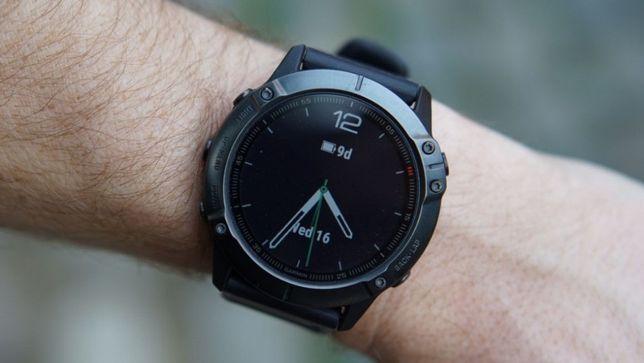 Новые Garmin Fenix 6x sapphire Часы спортивные