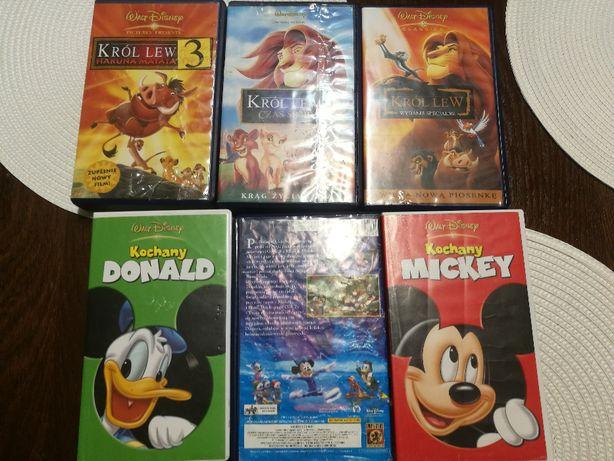 Klasyczne bajki dla dzieci na kasetach wideo