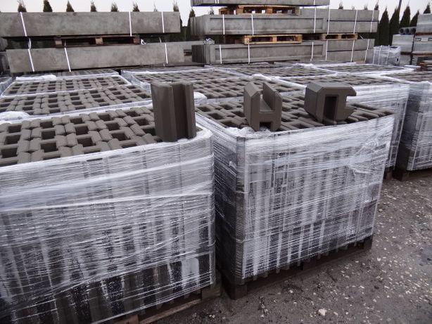 Producent łącznik betonowy H25z wibroprasy do podmurówki H20 panel H30